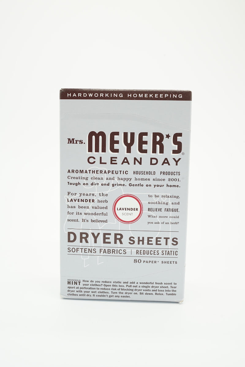 Mrs Meyer's Clean Day Dryer Sheets