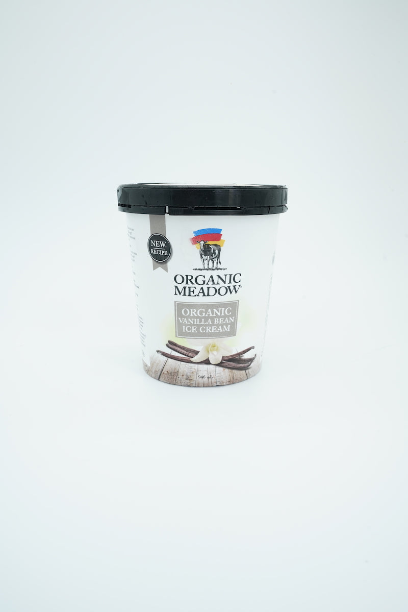 Organic Meadow Fairtrade Vanilla Bean Ice Cream