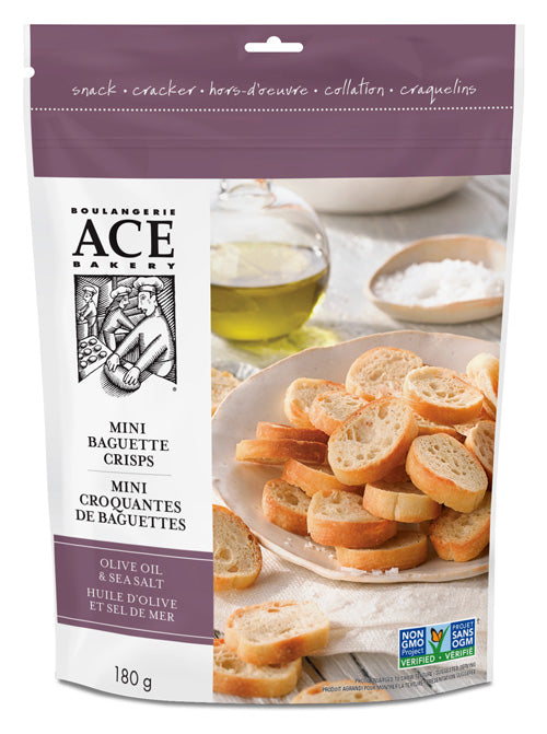 ACE Bakery Olive Oil & Sea Salt Artisan Crisps