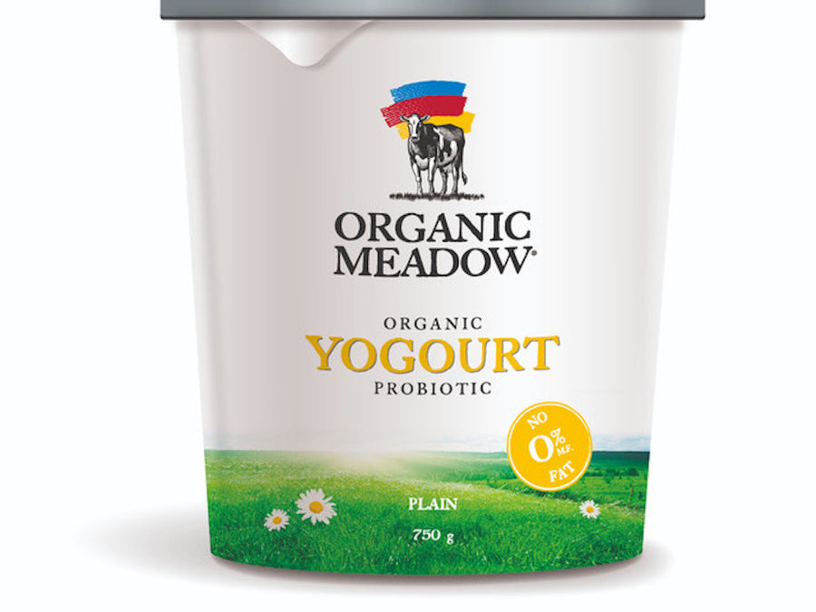 Organic Meadow - Fat Free Yogurt