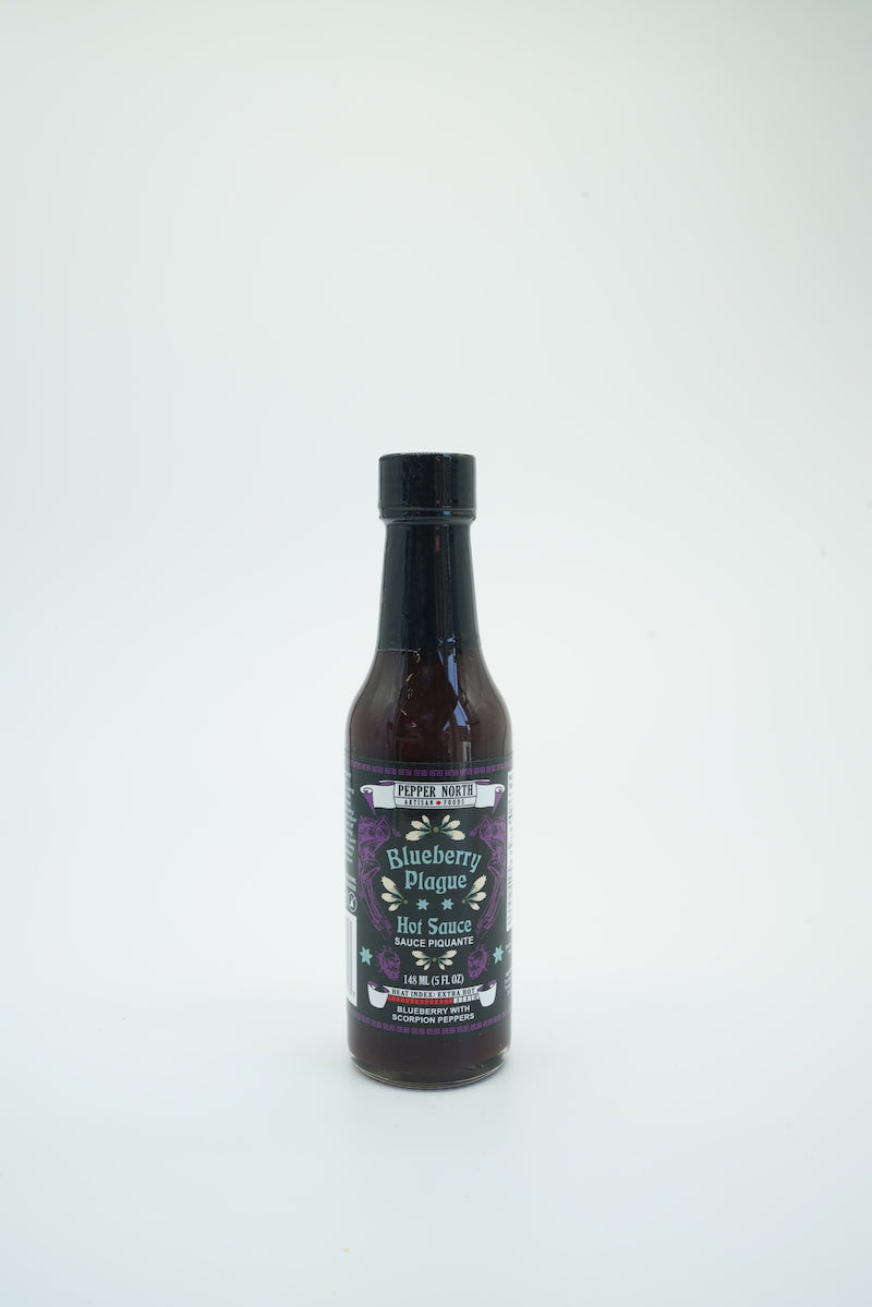 Pepper North Blueberry Plague Hot Sauce