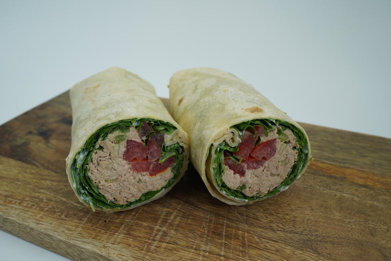 Premium tuna salad wrap