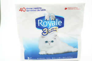 Royale 3Ply Dinner Napkins