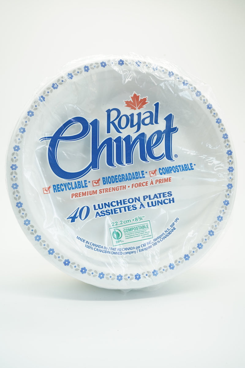 Royal Chinet Biodegradable Lunch Plates