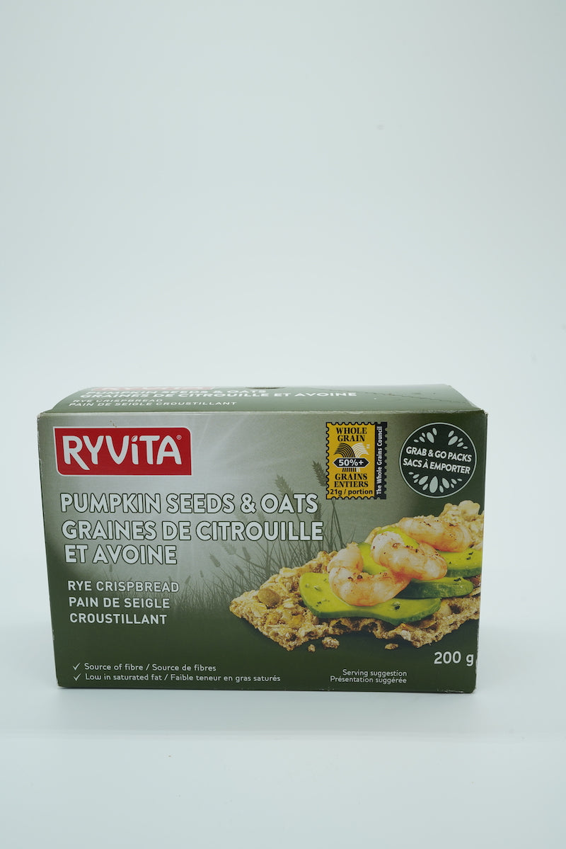 Ryvita Sunflower, Pumpkin & Oats Crispbread