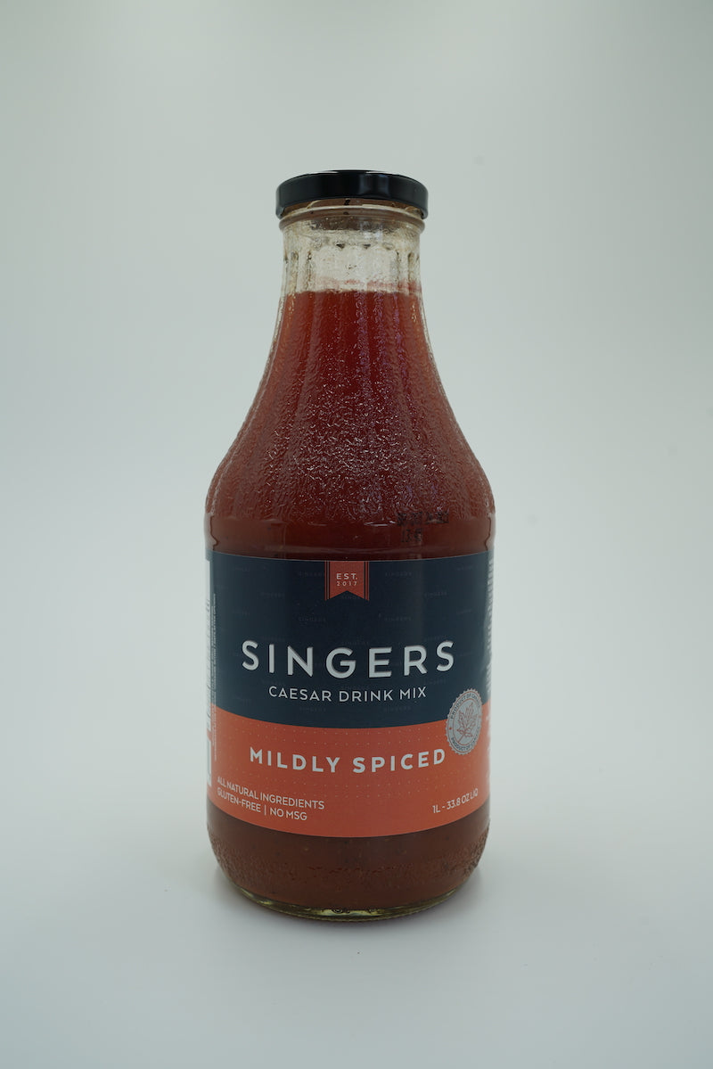 Singers Mildly Spiced Caesar Drink Mix