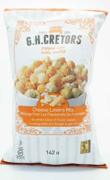 G.H.CRETORS cheese lovers mix