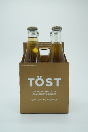 Tost Cranberry & Ginger Sparkling White Tea