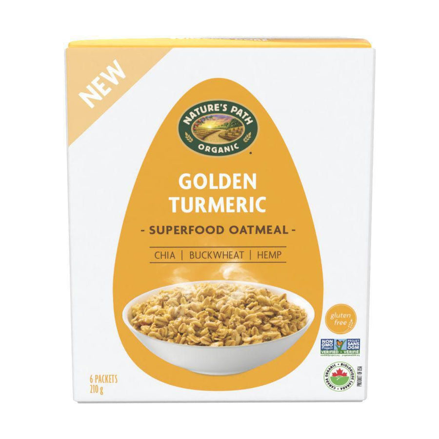 Nature's Path Organic Golden Turmeric Superfoods Oatmeal