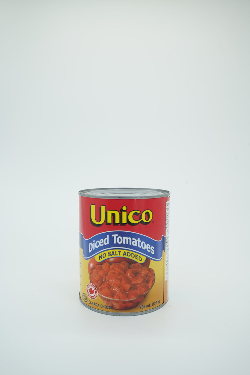 Unico Diced Tomatoes, No Salt Added
