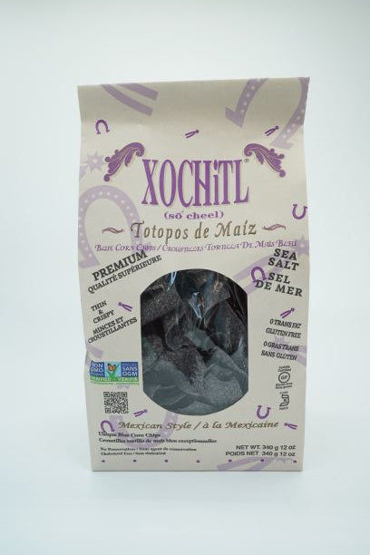 XOCHiTL Blue Mexican Style Corn Chips