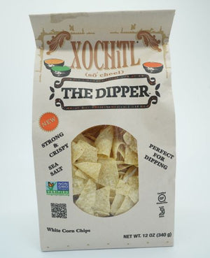 XOCHiTL White Salted Mexican Style Corn Chips