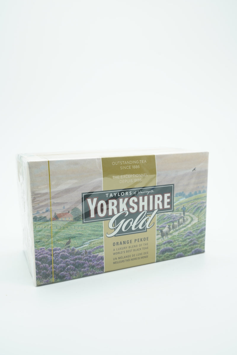 Taylors of Harrogate Yorkshire Gold Orange Pekoe Tea Bags