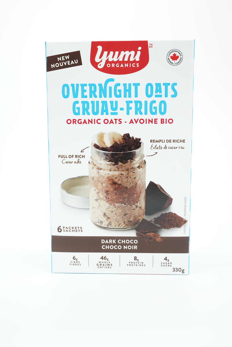 Yumi Organic Chocolate Overnight Oats