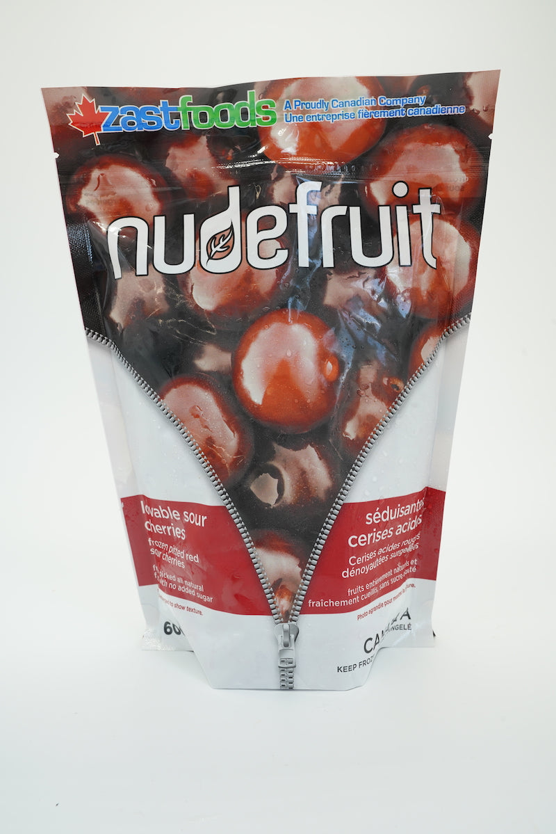 Zast Foods Nude Fruit Frozen Sour Cherries
