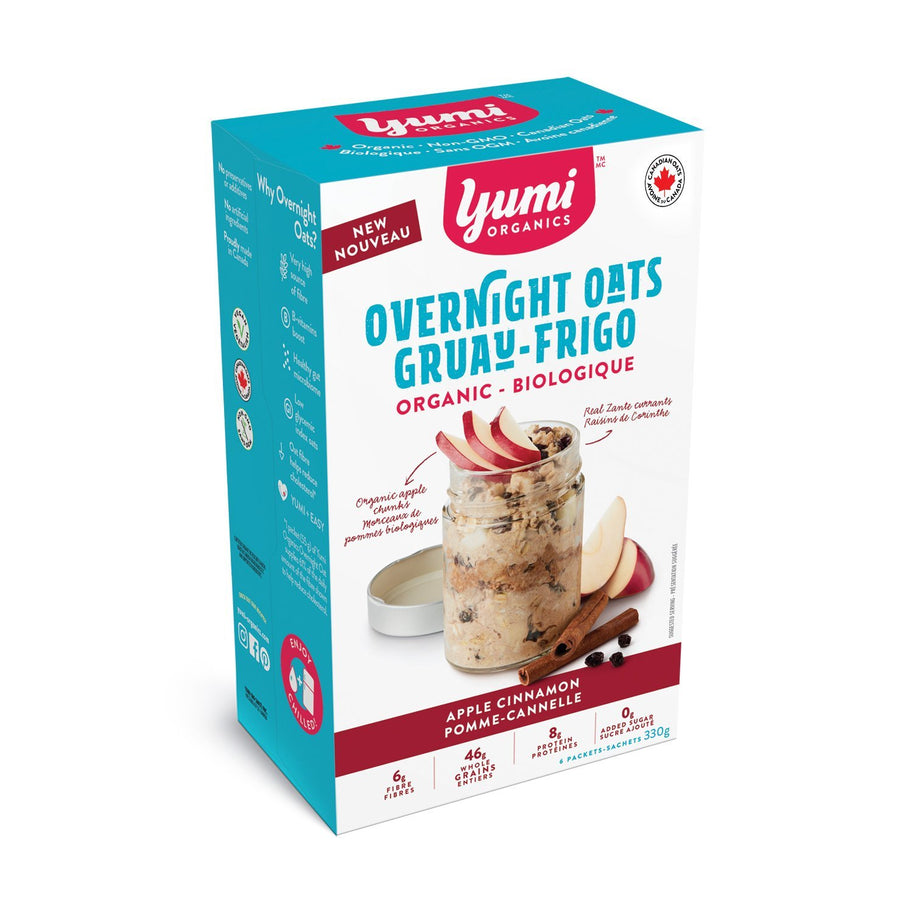 Yumi Organic Apple Cinnamon Overnight Oats