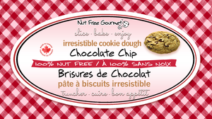 Nut Free Gourmet Chocolate Chip Irresistable Cookie Dough