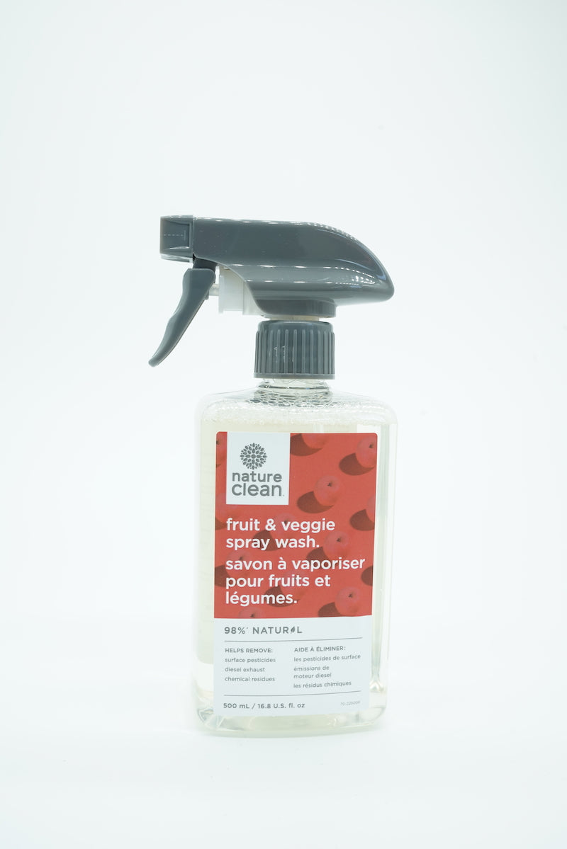 Nature Clean Fruit And Veggie Spray Wash