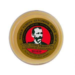 Colonel Conk Bay Rum Glycerin Shave Soap (64g/2.25oz)