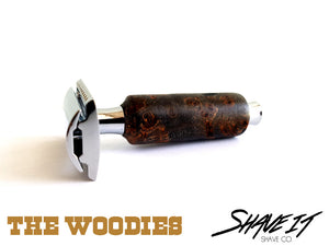 "Shave It DE Safety Razor #0007SHW - ""Rusty"" - Short Handle - Stumpy"