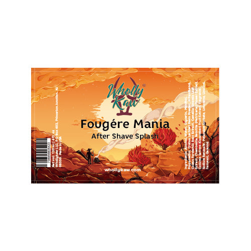 Wholly Kaw - Fougère Mania After Shave Splash - 120ml