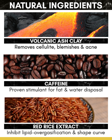 Mountain - Volcanic Clay Coffee Sculpting Soap Bar