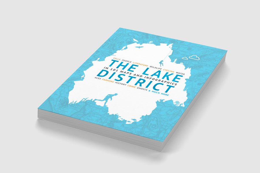 New: The Lake District in 101 Maps and Infographics