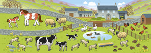 The Derbyshire Sticker Book Farm Animal Stickers