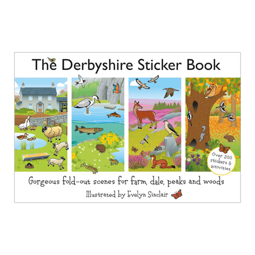 The Derbyshire Sticker Book