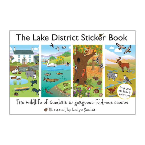 The Lake District Sticker Book for Children