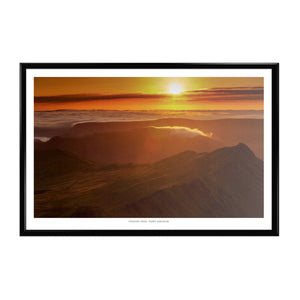 Terry Abraham Art Print: Striding Edge