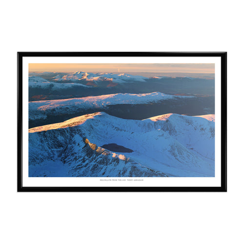 Terry Abraham Art Print: Helvellyn from the Air