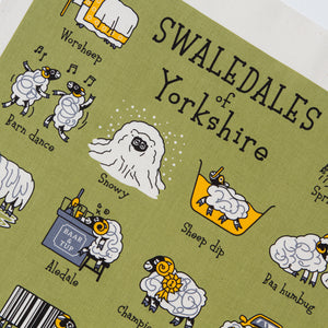Swaledales of Yorkshire Tea Towel