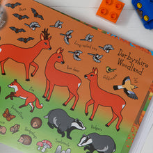 Load image into Gallery viewer, The Derbyshire Sticker Book Woodland Animal Stickers