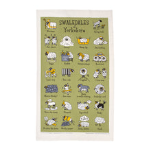 Load image into Gallery viewer, Swaledales of Yorkshire Tea Towel