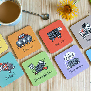 Herdwicks of the Lake District Coasters Full Set