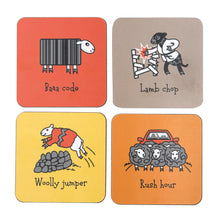 Load image into Gallery viewer, Herdwicks of the Lake District Coasters Warm Colours Set