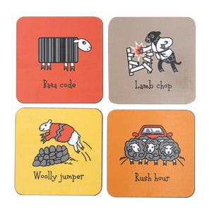 Herdwicks of the Lake District Coasters Warm Colours Set