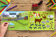 Load image into Gallery viewer, The Lake District Sticker Book Farm Animal Stickers