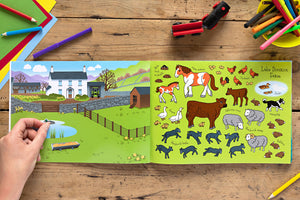 The Lake District Sticker Book Farm Animal Stickers