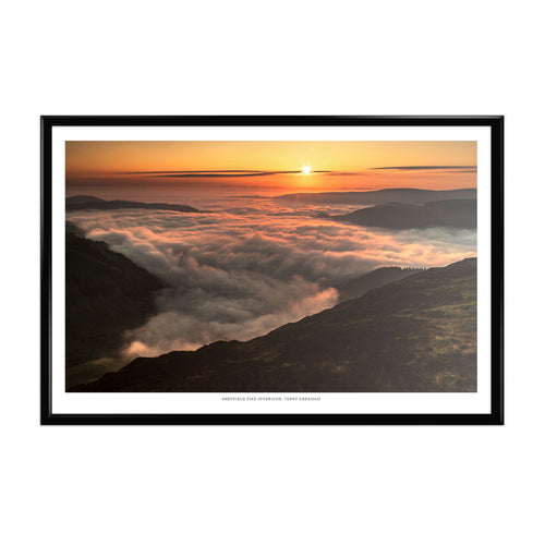 Terry Abraham Art Print: Sheffield Pike Inversion