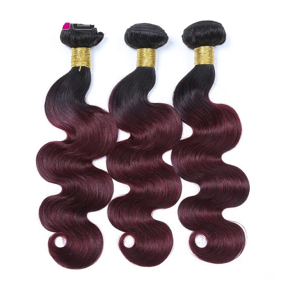 Ombre Brazilian Body Wave Bundles