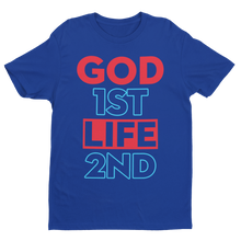 GFLS Mens Neon Statement Tee