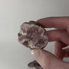Load and play video in Gallery viewer, Pink Amethyst Geode - Calm and Soothing