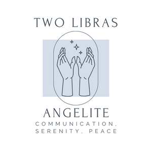 Angelite Crystal Intention Candle