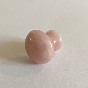 Rose Quartz Eye Massage Tool