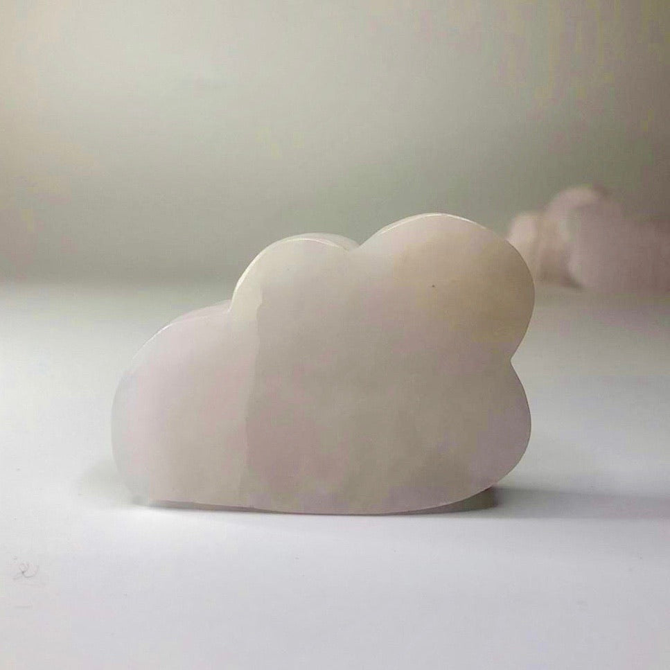 Pink Calcite Cloud- Relaxation, Contentment, Compassion