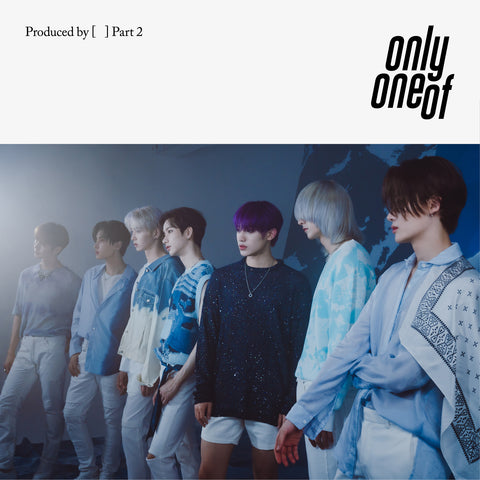 'Produced by [   ] Part 2' Physical Album Package