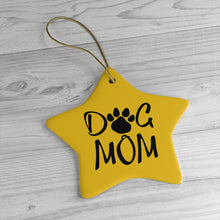 Load image into Gallery viewer, Buy online Premium Quality Dog Mom - Paw Collection - Ceramic Ornaments - Christmas Tree Decoration - #dogmomtreats - Dog Mom Treats