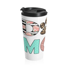 Load image into Gallery viewer, Buy online Premium Quality Dog Mom - Leopard Paw - Stainless Steel Travel Mug - Gift Idea - #dogmomtreats - Dog Mom Treats
